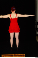 Vanessa Shelby red dress standing t poses whole body 0005.jpg